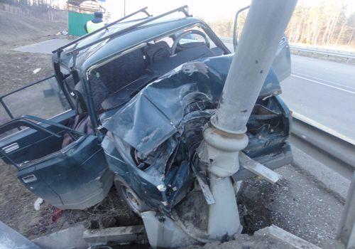 ДТП авария на 107 км трассы М4 ДОН Московская область Ступино 12.04.2015